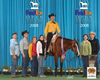 Aqha Select World Show Western Pleasure 2008 Youtube | World Series TV